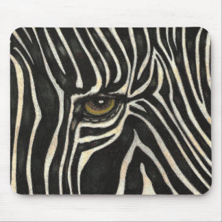 Zebra Eye Mousepad
