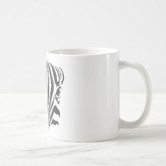Zebra Eyes Classic White Coffee Mug