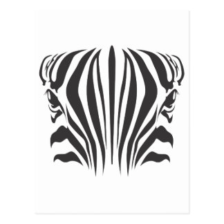 Zebra Eyes Postcard