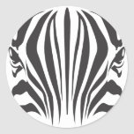 Zebra Eyes Stickers