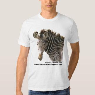 Zebra Face (front) - Zebra Butt (back) Shirts