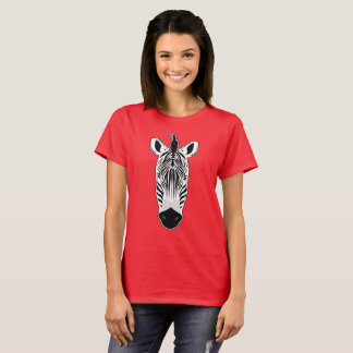 Zebra Face T-Shirt
