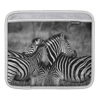 Zebra Family Sleeve For iPads