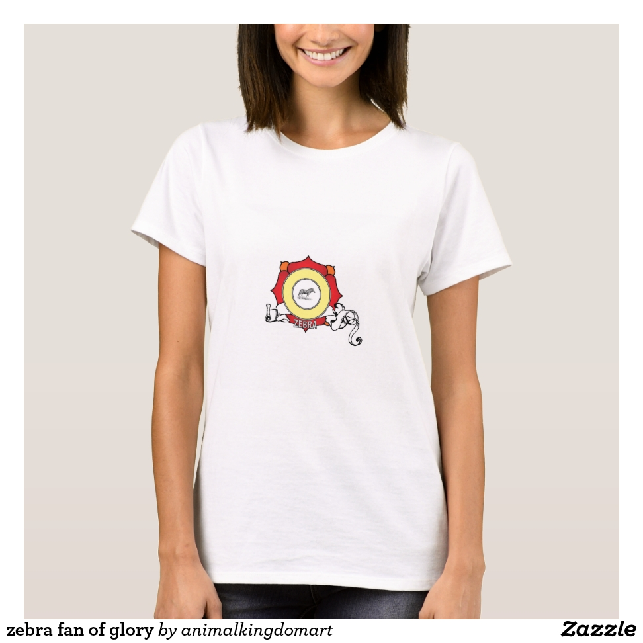 zebra fan of glory T-Shirt - Best Selling Long-Sleeve Street Fashion Shirt Designs