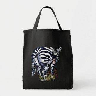 Zebra Fat Butt Bags