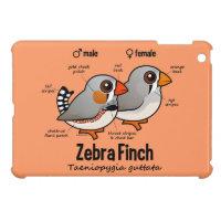 Zebra Finch Statistics Case Savvy iPad Mini Finish Case