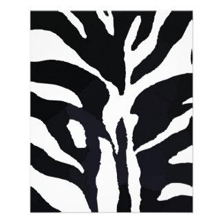 Zebra Flyers
