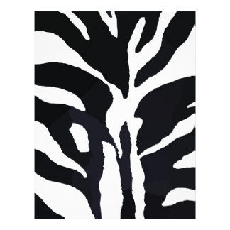 Zebra Flyer Design