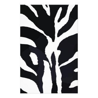 Zebra Personalized Flyer