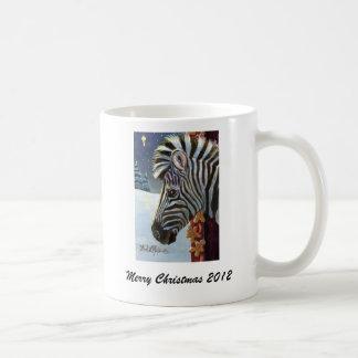 Zebra For Christmas Mug 2012