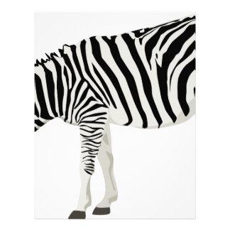 zebra friend family shower party love letterhead