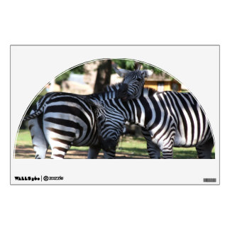 Zebra Friends wall graphics
