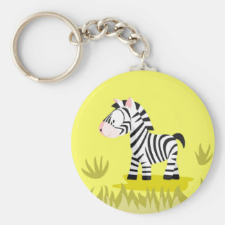 Zebra from my world animals serie keychain