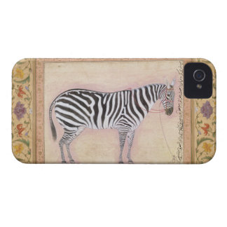 Zebra, from the 'Minto Album', 1621 (gouache on pa Case-Mate iPhone 4 Case