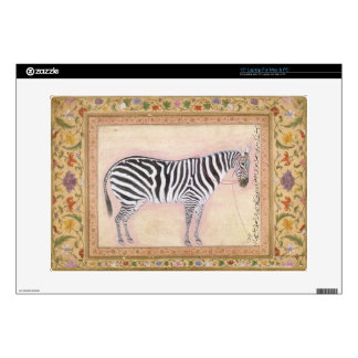 Zebra, from the 'Minto Album', 1621 (gouache on pa Decal For Laptop