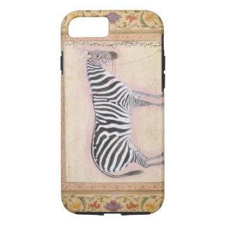 Zebra, from the 'Minto Album', 1621 (gouache on pa iPhone 7 Case