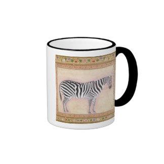 Zebra, from the 'Minto Album', 1621 (gouache on pa Coffee Mugs