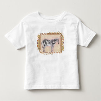Zebra, from the 'Minto Album', 1621 (gouache on pa Toddler T-shirt