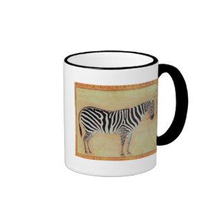 Zebra from the Minto Album Mughal 1621 Coffee Mugs