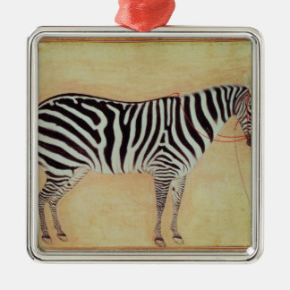 """Zebra, from the """"Minto Album"""", Mughal, 1621, Christmas Tree Ornaments"""