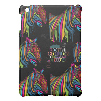 zebra full of painted colors dont follow others cover for the iPad mini