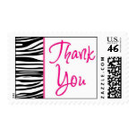 Zebra Fun Thank You Postage Stamps