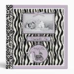 Zebra Girl 1.5 in Photo Album Binders