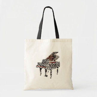 Zebra Grand Piano ~ Bag