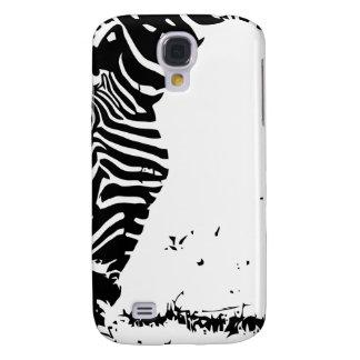 Zebra Grazing Galaxy S4 Case