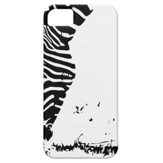Zebra Grazing iPhone 5 Cases