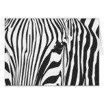 Zebra! Greeting Card