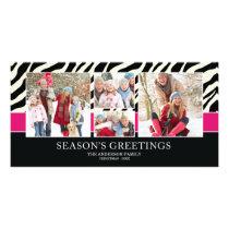 ZEBRA GREETINGS | HOLIDAY PHOTO CARD