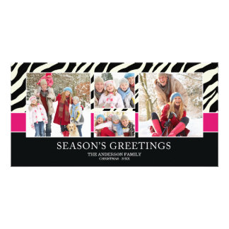 ZEBRA GREETINGS | HOLIDAY PHOTO CARD