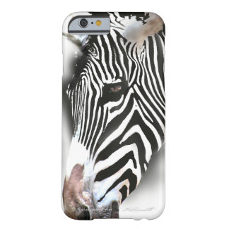 Zebra Head Barely There iPhone 6 Case