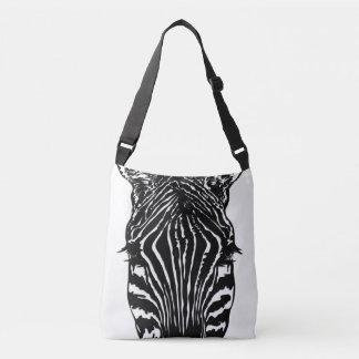 Zebra Head Crossbody Bag