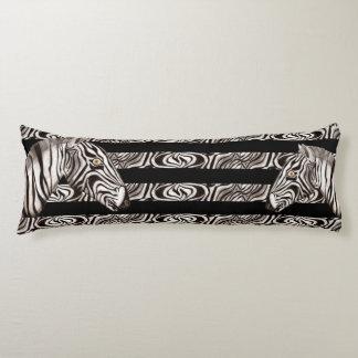 Zebra Head Body Pillow