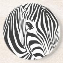 Zebra Head Sandstone Coaster