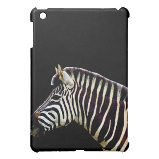 Zebra Head to Shoulder iPad Mini Cover