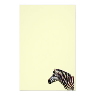 Zebra Head to Shoulder Stationery