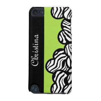 Zebra hearts iPod Touch case