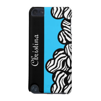 Zebra hearts iPod Touch case