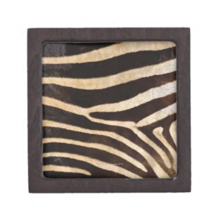 Zebra Hide 2 Keepsake Box