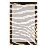 Zebra Hide 2 Stationery