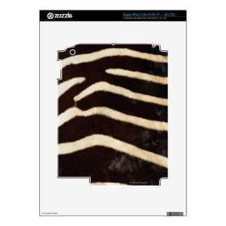 Zebra Hide Decals For iPad 3
