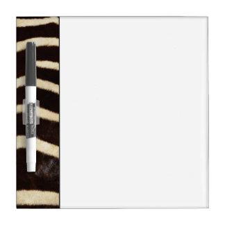Zebra Hide Dry Erase Board