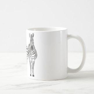 ZEBRA HUMOR COFFEE MUG
