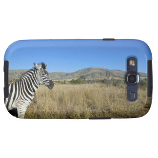 Zebra in open plain, Pilansberg National Park, Samsung Galaxy S3 Covers