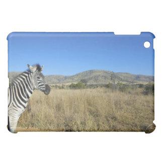 Zebra in open plain, Pilansberg National Park, iPad Mini Covers