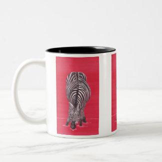 Zebra in red Mug