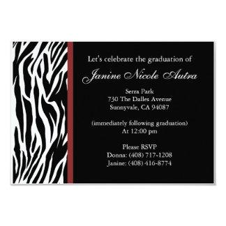 Zebra Invitations